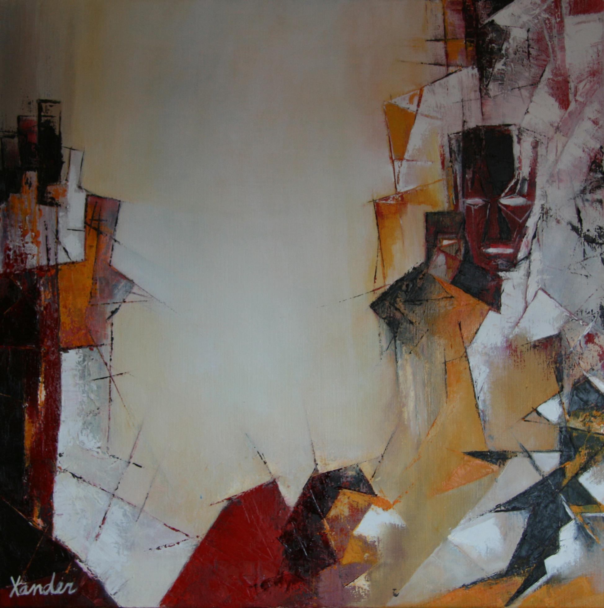 Schilderij drieluik 2