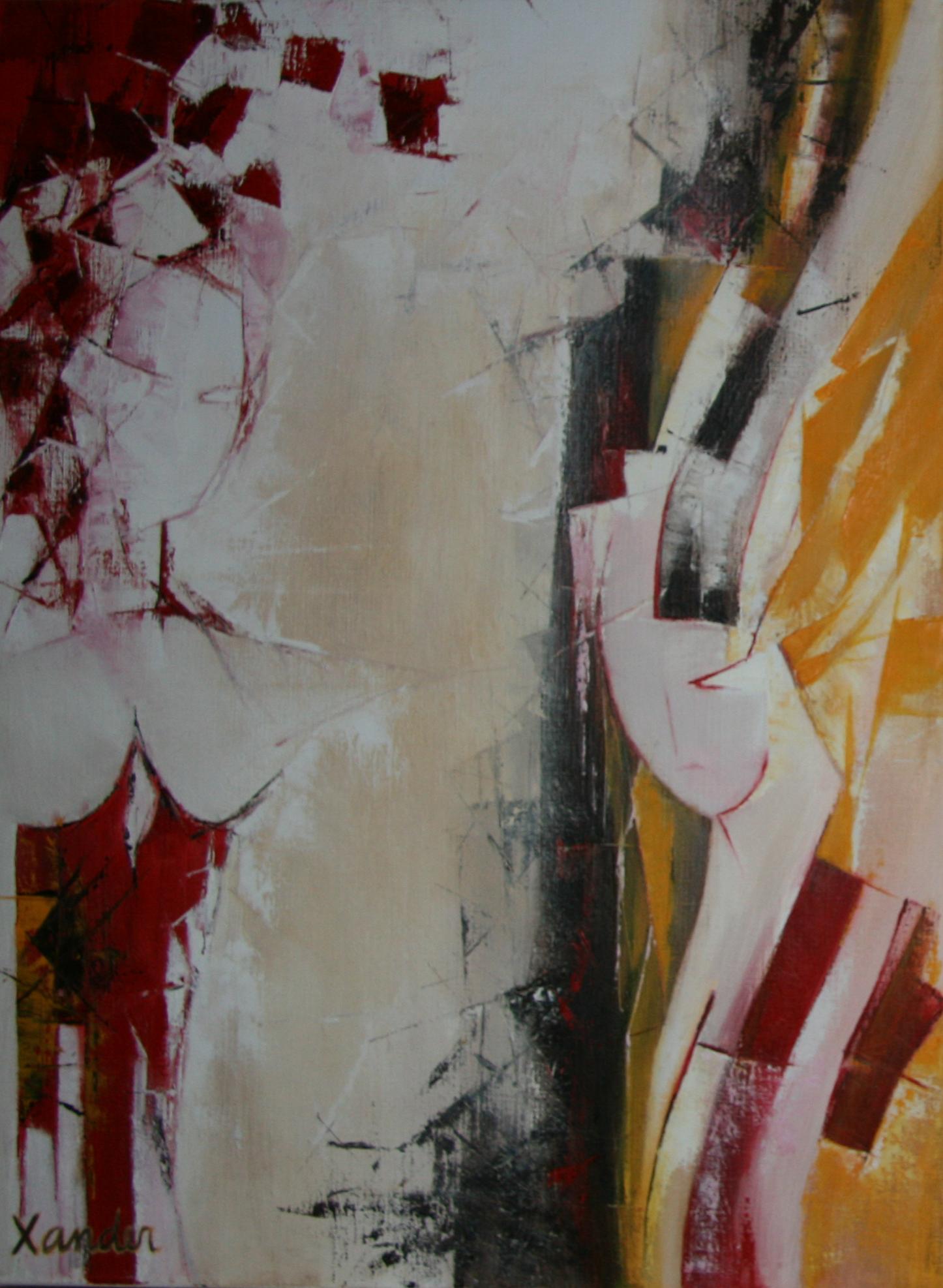 Schilderij drieluik 3